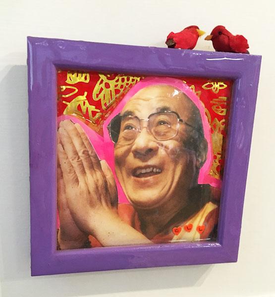 SOLD - Hello Dalai 5x6