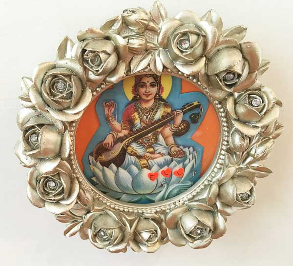 Saraswati Roses 5x5